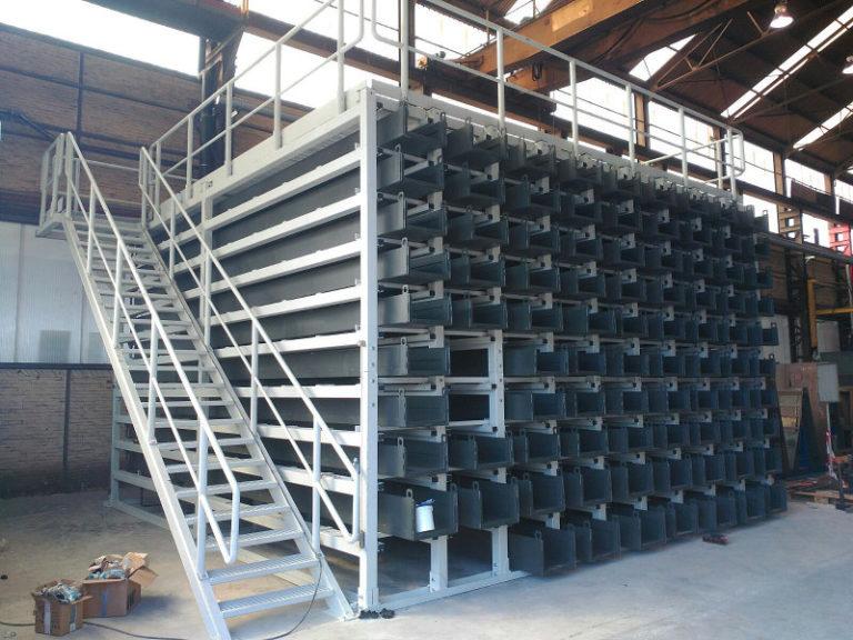 Système de stockage compact à profil long