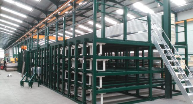 Installations personnalisées entre les colonnes